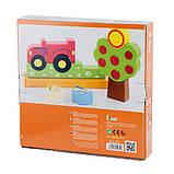 Магнитная деревянная игрушка Viga Toys Ферма (59701), фото 3