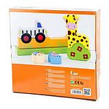 Магнитная деревянная игрушка Viga Toys Зоопарк (59702), фото 3