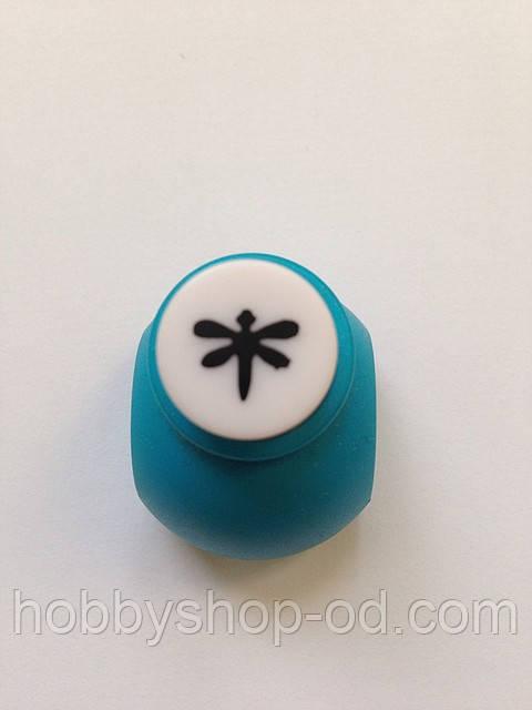 Дырокол стрекоза 1 см кнопка
