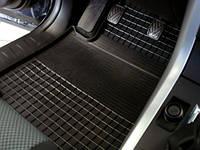 """Резиновые коврики """"Stingray Premium"""" на Nissan Note 05- (полный - 4 шт)"""