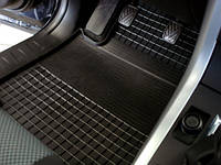 "Резиновые коврики ""Stingray Premium"" на Nissan Note 05- (передние - 2 шт)"