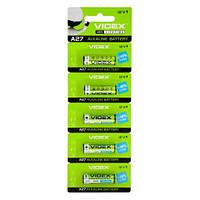 Батарейка высоковольтная Videx А27 Alkaline (MN27, EL812, 12V)