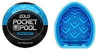 Карманный мастурбатор Zolo Pocket Pool Corner Pocket