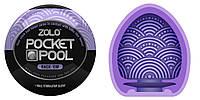 Мастурбатор Zolo Pocket Pool Rack Em