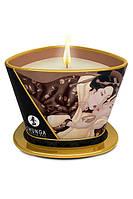 Shunga Massage Candle Chocolate 170 ml свеча с ароматом шоколада