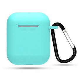 Чехол для наушников Apple AirPods Slim + Carabine