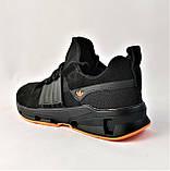 Кроссовки Мужские Adidas Черные Адидас (размеры: 42,43,44,45) Видео Обзор, фото 3