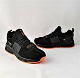 Кроссовки Мужские Adidas Черные Адидас (размеры: 42,43,44,45) Видео Обзор, фото 9