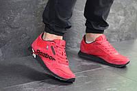 Мужские кроссовки красные Reebok 7547 копия