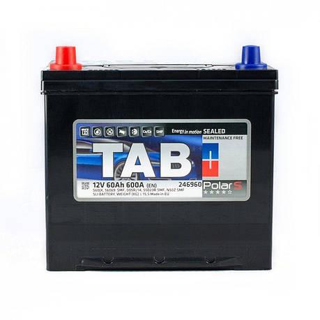 TAB 6СТ-60 Polar Автомобильный аккумулятор, фото 2