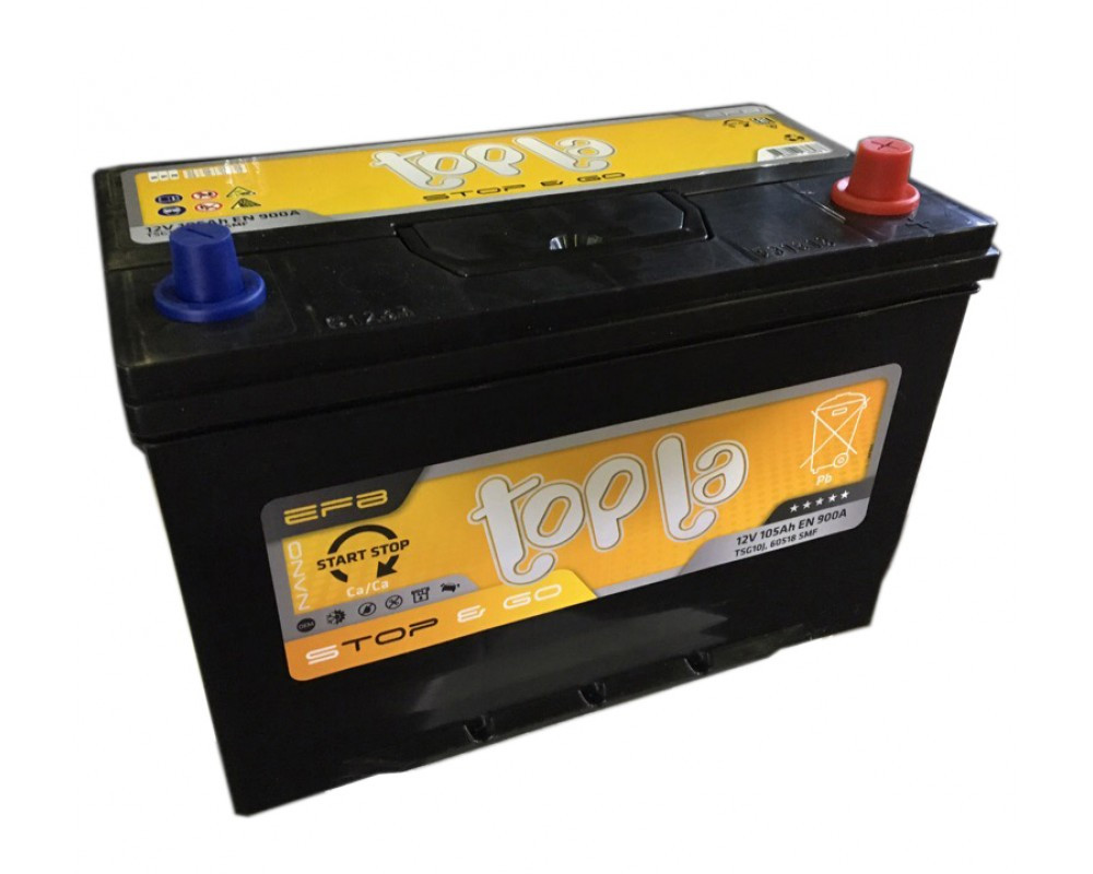 Topla Start-Stop EFB 6СТ-105 Автомобильный аккумулятор