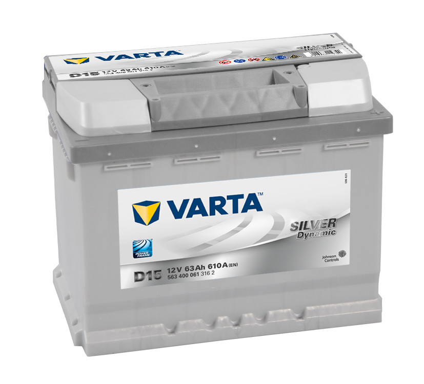 VARTA 6СТ-63 SILVER dynamic (D15) 563400061 Автомобильный аккумулятор