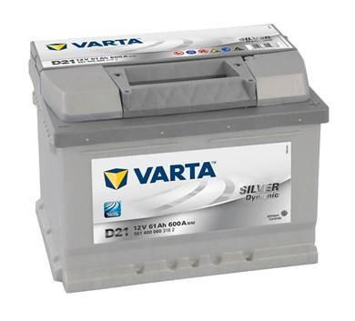 VARTA 6СТ-61 Silver Dynamic D21 561400060 Автомобильный аккумулятор, фото 2