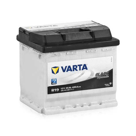 VARTA 6СТ-45 BLACK dynamic (B19) 545412040 Автомобильный аккумулятор, фото 2