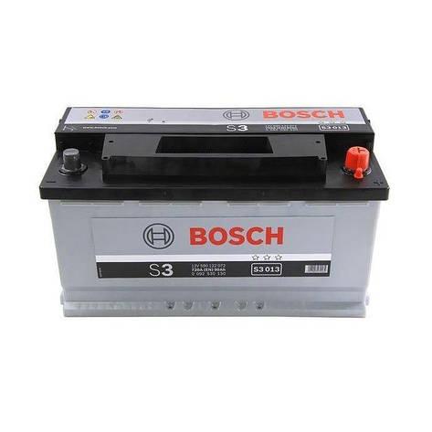 Bosch 6СТ-90 Silver S3 (S30 130) Автомобильный аккумулятор, фото 2