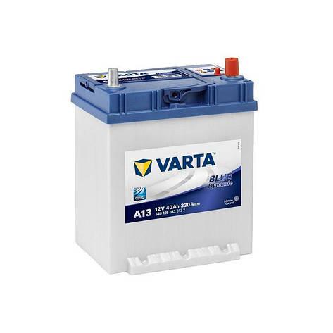VARTA 6СТ-40 BLUE dynamic (A13) 540125033 Автомобильный аккумулятор, фото 2