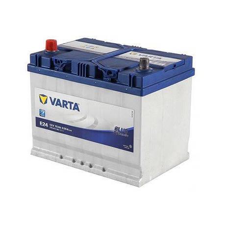 VARTA 6СТ-70 BLUE dynamic (E24) 570413063 Автомобильный аккумулятор, фото 2