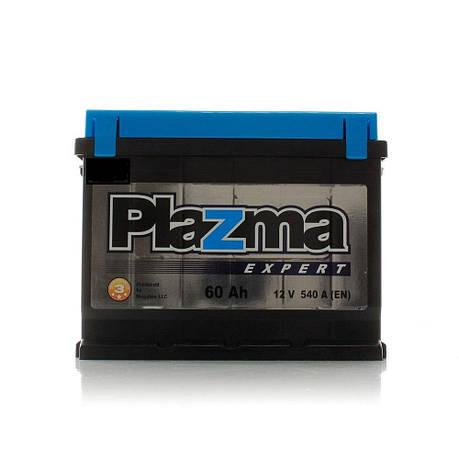 Plazma 6СТ-60 Аз Expert 5606302 Автомобильный аккумулятор, фото 2