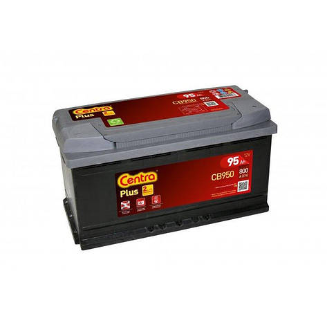 Centra 6CT-95 PLUS (CB950) Автомобильный аккумулятор, фото 2