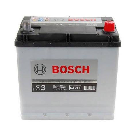 Bosch 6СТ-45 Silver S3 (S30 160) Автомобильный аккумулятор, фото 2