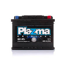 Plazma 6СТ-60 АзЕ Original Автомобильный аккумулятор, фото 2