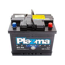 Plazma 6СТ-60 АзЕ Original Автомобильный аккумулятор, фото 3