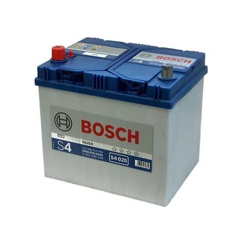Bosch 6CT-60 S4 Silver (S40 250) Автомобильный аккумулятор, фото 2