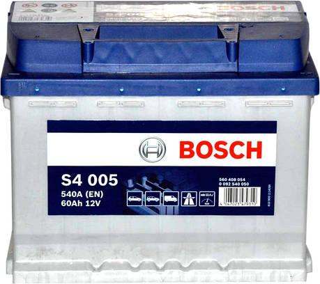 Bosch 6CT-60 S4 Silver (S40 050) Автомобильный аккумулятор, фото 2