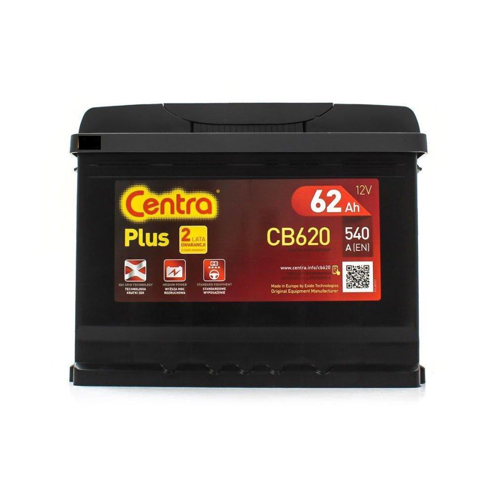 Centra 6CT-62 PLUS (CB620) Автомобильный аккумулятор