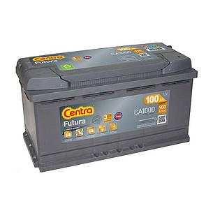 Centra 6CT-100 FUTURA (CA1000) Автомобильный аккумулятор, фото 2