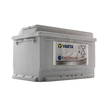 VARTA 6СТ-74 SILVER dynamic (E38) 574402075 Автомобильный аккумулятор, фото 2