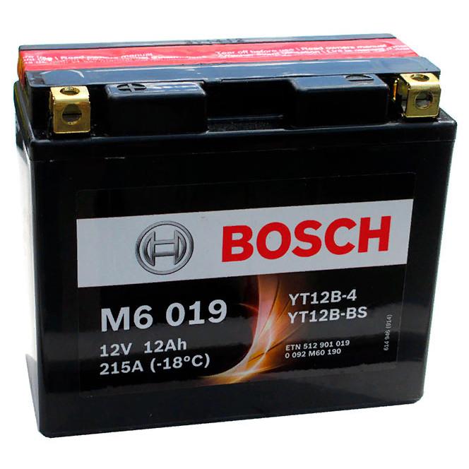Bosch 6СТ-12 (0092M60190) Мото акумулятор