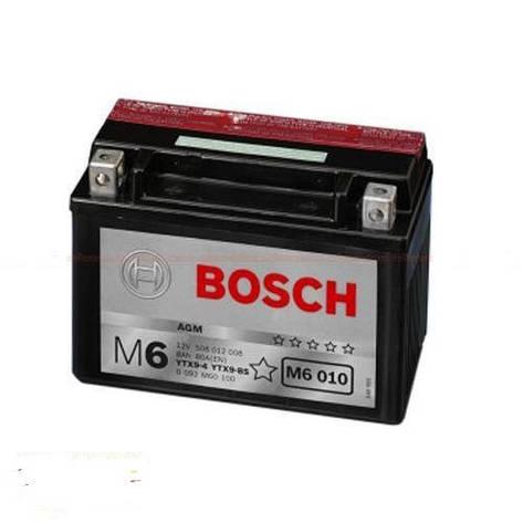 Bosch 6СТ-8 (0092M60100) Мото аккумулятор, фото 2