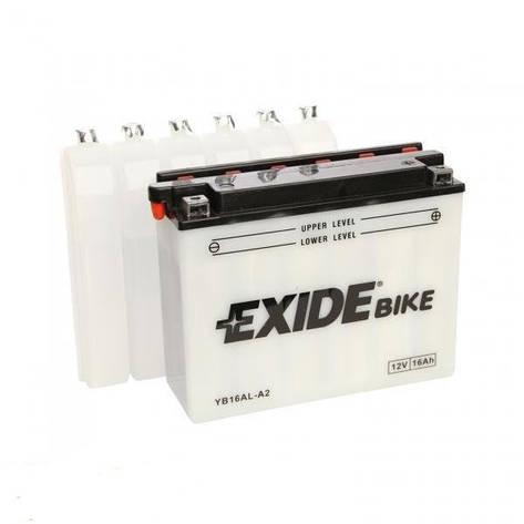 EXIDE 6АС-16 (EB16AL-A2) Мото аккумулятор, фото 2
