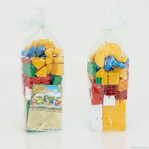 """Конструктор """"Зоо-Блок №3"""" (53 детали) / Детские пластиковые конструкторы"""