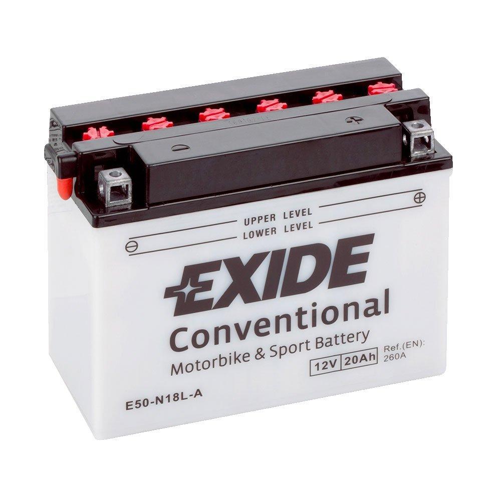 EXIDE 6СТ-20 (E50-N18L-A) Мото аккумулятор