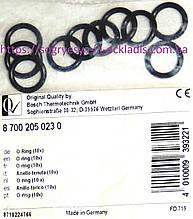 Компл. кілець 10 шт рез. гидрогр. теплообміну.(ф.у, EU) Bosch-Junkers WR10P, артикул 8700205023, к. з. 0508/2