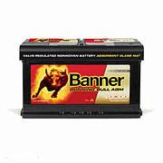Banner 6СТ-80 Running Bull AGM 58001 Автомобильный аккумулятор