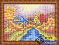 Схема для вышивки бисером - Времена года Осень, Арт. ПБп3-118