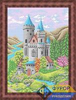Набор для вышивки бисером - Замок на холме, Арт. ПБп3-119