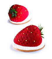 Силіконова форма для десертів PAVONI PX4333 Strawberry