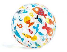 """Надувной мяч """"Рыбки"""", 51 см / Надувные мячи"""