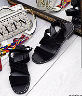 Moschino! летние кожаные женские сандалии босоножки без каблука