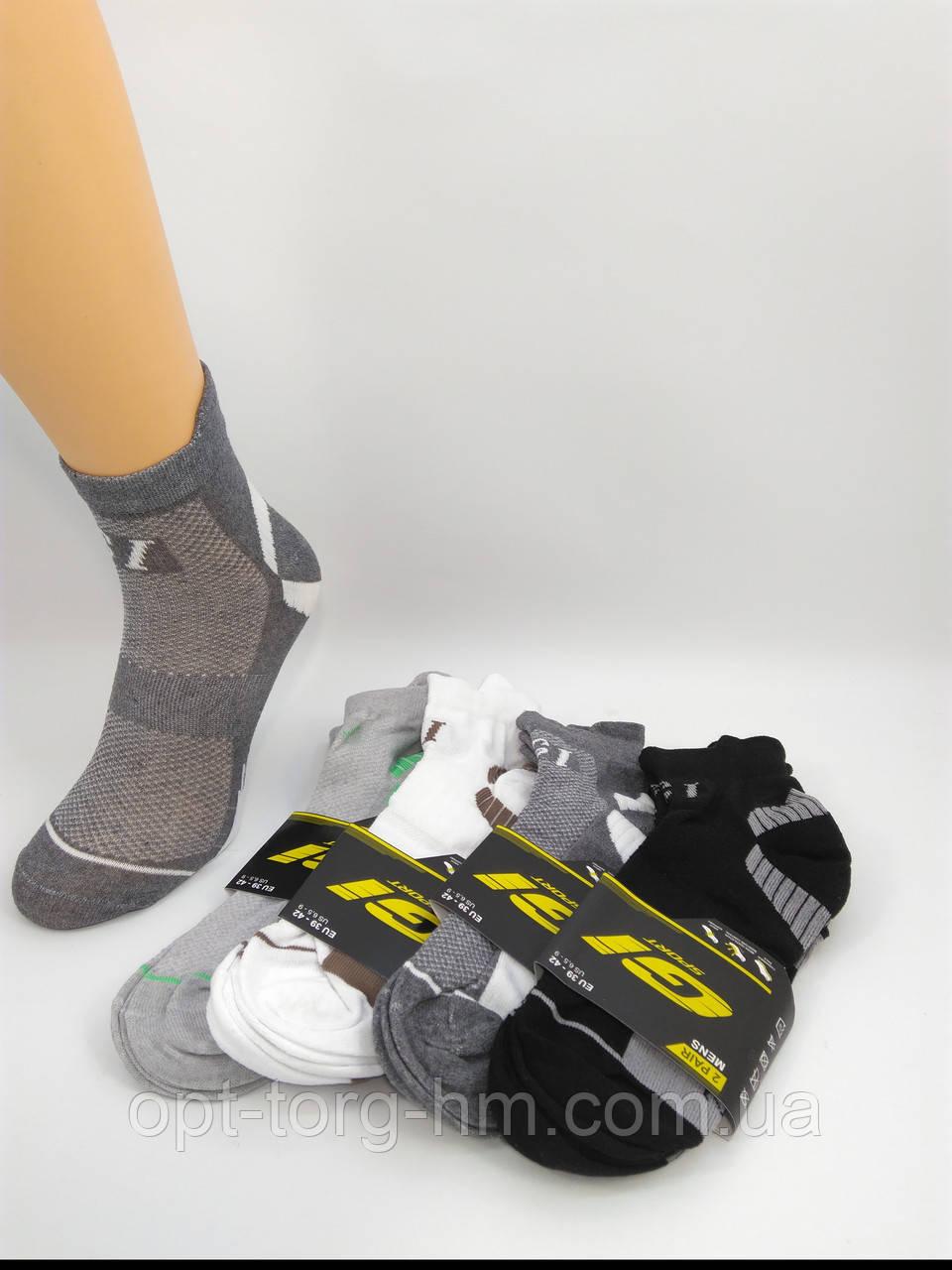 """Спортивні чоловічі шкарпетки сітка """"GI SPORT"""" 29-31 (43-45 взуття)"""