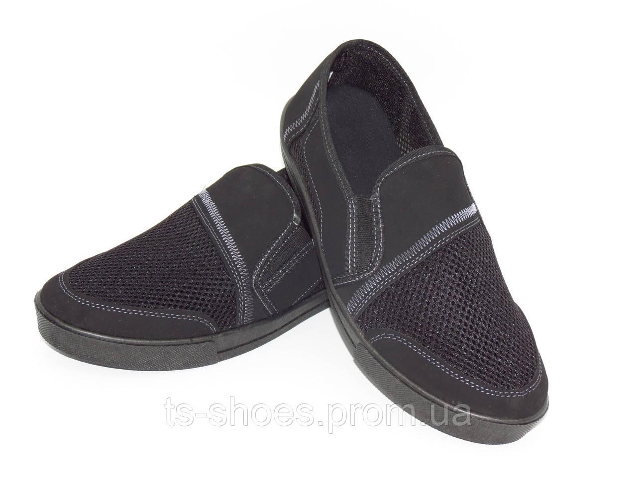 """Мокасины на черной подошве """"TS Shoes"""""""