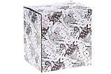 Підставка для серветок керамічна фігурна з об'ємним малюнком Нічна серенада, 10см, фото 3
