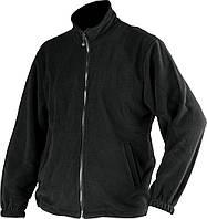 Куртка флисовая YATO черная, размер L, фото 1