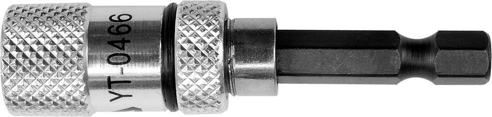 """Магнитный держатель для отверточных насадок YATO 1/4"""" 60 мм"""