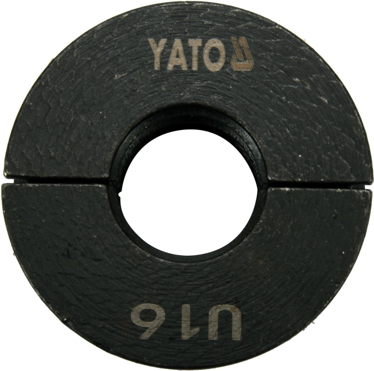 Насадка для пресс-клещей YT-21750 YATO U16 мм