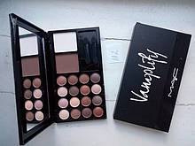 Палитра теней для макияжа Mac Vamplify 16 Color Eyebrow Powder 2 Color Powder